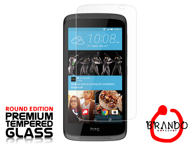 Brando Workshop Premium Tempered Glass Protector (Rounded Edition) (HTC Desire 526)
