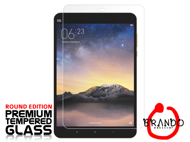 Brando Workshop Premium Tempered Glass Protector (Rounded Edition) (Xiaomi Mi Pad 2)