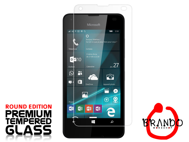 Brando Workshop Premium Tempered Glass Protector (Rounded Edition) (Microsoft Lumia 550)