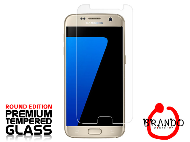 Brando Workshop Premium Tempered Glass Protector (Rounded Edition) (Samsung Galaxy S7)