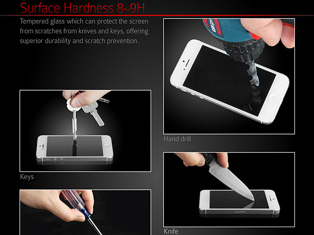 Brando Workshop Premium Tempered Glass Protector (Rounded Edition) (HTC One X9)