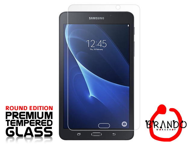 Brando Workshop Premium Tempered Glass Protector (Rounded Edition) (Samsung Galaxy Tab A 7.0 (2016) T280)