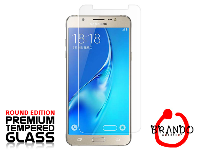 Brando Workshop Premium Tempered Glass Protector (Rounded Edition) (Samsung Galaxy J7 (2016) J710)