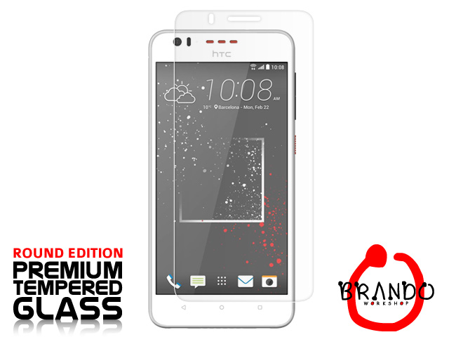 Brando Workshop Premium Tempered Glass Protector (Rounded Edition) (HTC Desire 825)
