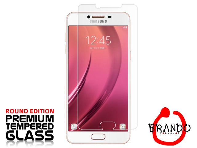 Brando Workshop Premium Tempered Glass Protector (Rounded Edition) (Samsung Galaxy C7)