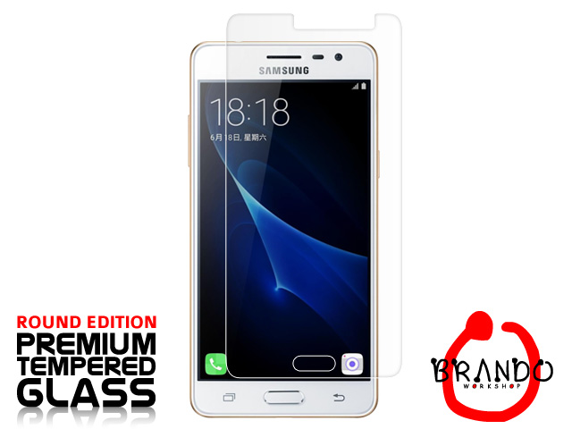 Brando Workshop Premium Tempered Glass Protector (Rounded Edition) (Samsung Galaxy J3 Pro (2016))