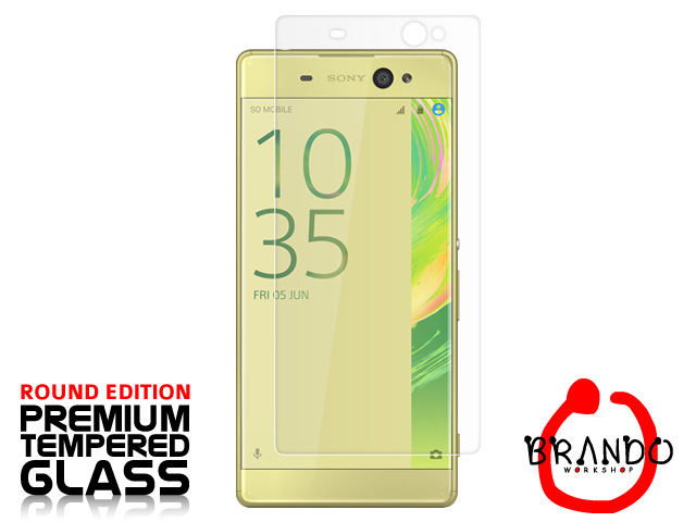 Brando Workshop Premium Tempered Glass Protector (Rounded Edition) (Sony Xperia XA Ultra)