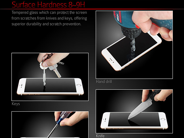 Brando Workshop Full Screen Coverage Curved Glass Protector (iPhone 7) – Transparent