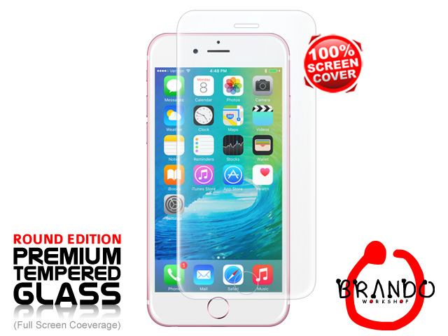 Brando Workshop Full Screen Coverage Curved Glass Protector (iPhone 6s Plus) – Transparent