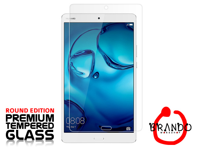 Brando Workshop Premium Tempered Glass Protector (Rounded Edition) (Huawei MediaPad M3 8.4)