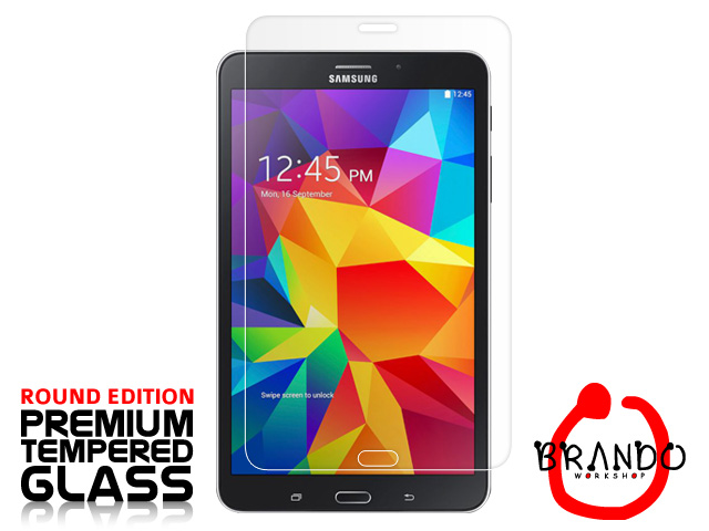 Brando Workshop Premium Tempered Glass Protector (Rounded Edition) (Samsung Galaxy Tab 4 7.0)