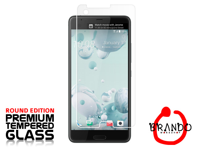 Brando Workshop Premium Tempered Glass Protector (Rounded Edition) (HTC U Ultra)