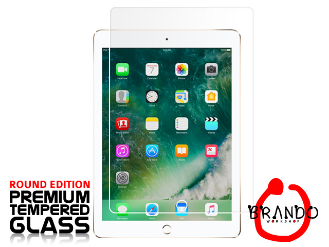 Brando Workshop Premium Tempered Glass Protector (Rounded Edition) (iPad 9.7)
