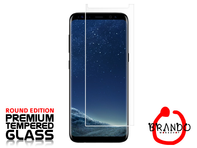 Brando Workshop Premium Tempered Glass Protector (Rounded Edition) (Samsung Galaxy S8)