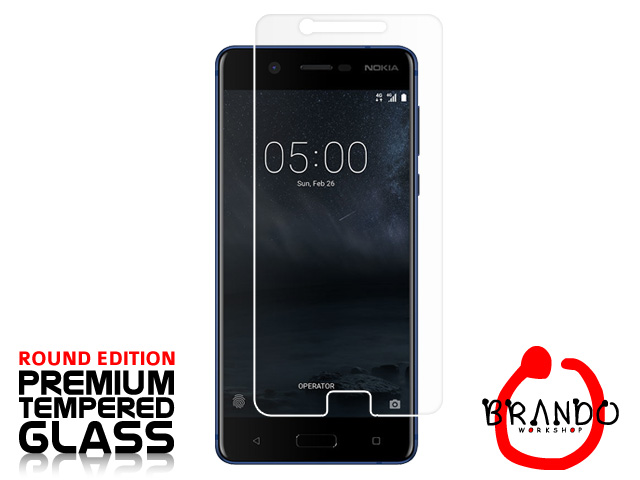 Brando Workshop Premium Tempered Glass Protector (Rounded Edition) (Nokia 5)