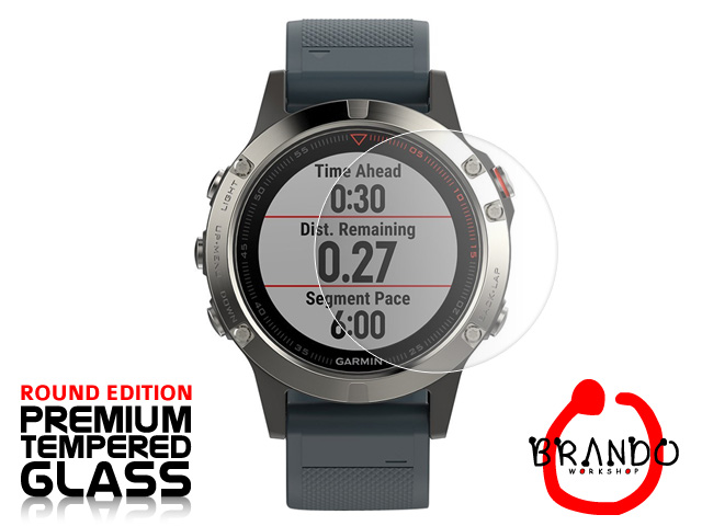 Brando Workshop Premium Tempered Glass Protector (Rounded Edition) (Garmin Fenix 5)