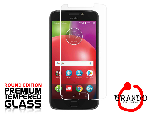 Brando Workshop Premium Tempered Glass Protector (Rounded Edition) (Motorola Moto E4)