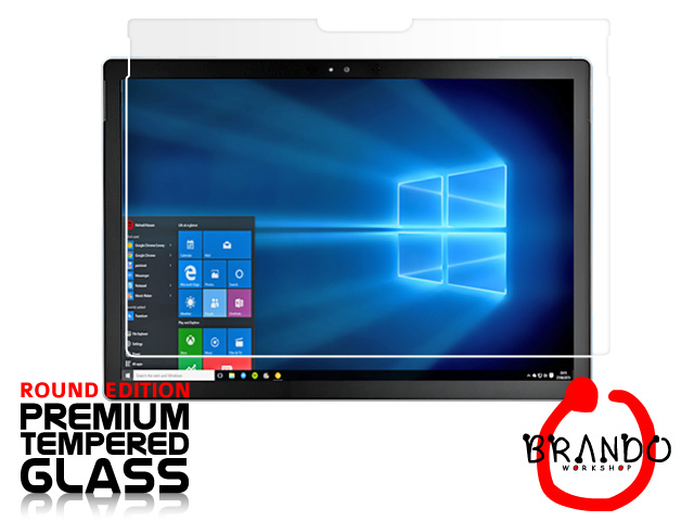 Brando Workshop Premium Tempered Glass Protector (Rounded Edition) (Microsoft Surface Pro 4)