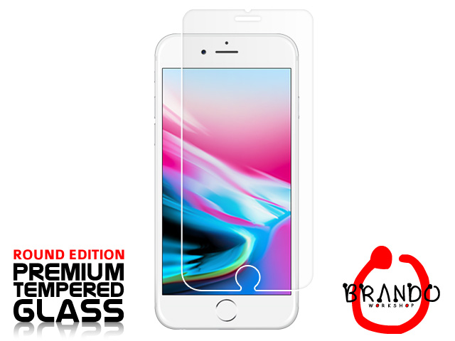 Brando Workshop Premium Tempered Glass Protector (Rounded Edition) (iPhone 8)