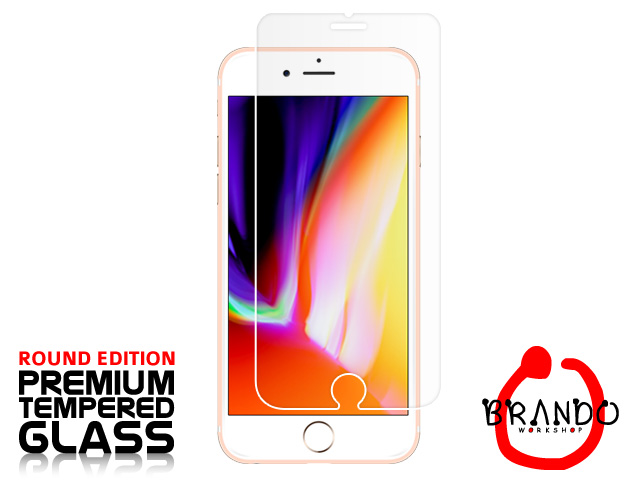 Brando Workshop Premium Tempered Glass Protector (Rounded Edition) (iPhone 8 Plus)