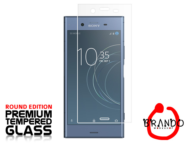 Brando Workshop Premium Tempered Glass Protector (Rounded Edition) (Sony Xperia XZ1)