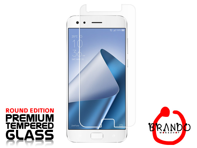 Brando Workshop Premium Tempered Glass Protector (Rounded Edition) (Asus Zenfone 4 Pro ZS551KL)