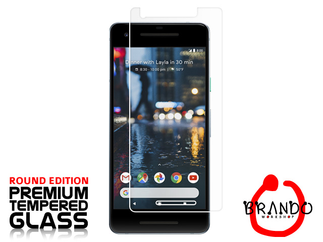 Brando Workshop Premium Tempered Glass Protector (Rounded Edition) (Google Pixel 2)