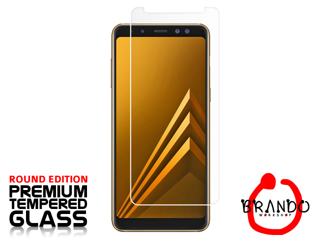 Brando Workshop Premium Tempered Glass Protector (Rounded Edition) (Samsung Galaxy A8 (2018))