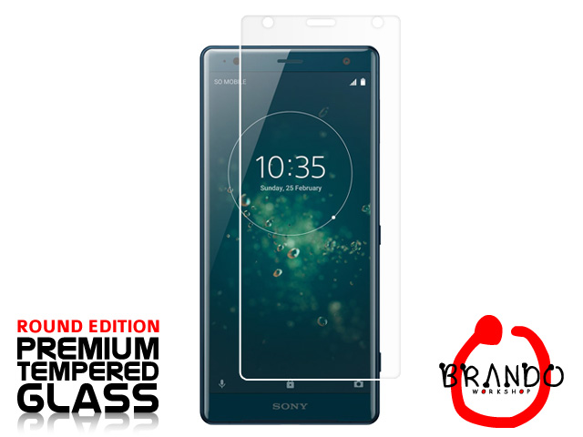Brando Workshop Premium Tempered Glass Protector (Rounded Edition) (Sony Xperia XZ2)