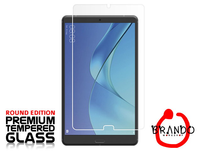 Brando Workshop Premium Tempered Glass Protector (Rounded Edition) (Huawei MediaPad M5 8.4)