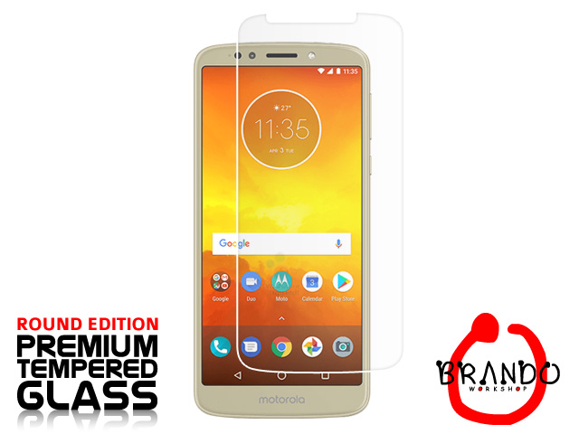 Brando Workshop Premium Tempered Glass Protector (Rounded Edition) (Motorola Moto E5)