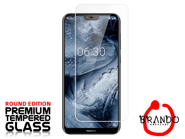 Brando Workshop Premium Tempered Glass Protector (Rounded Edition) (Nokia X6 (2018))