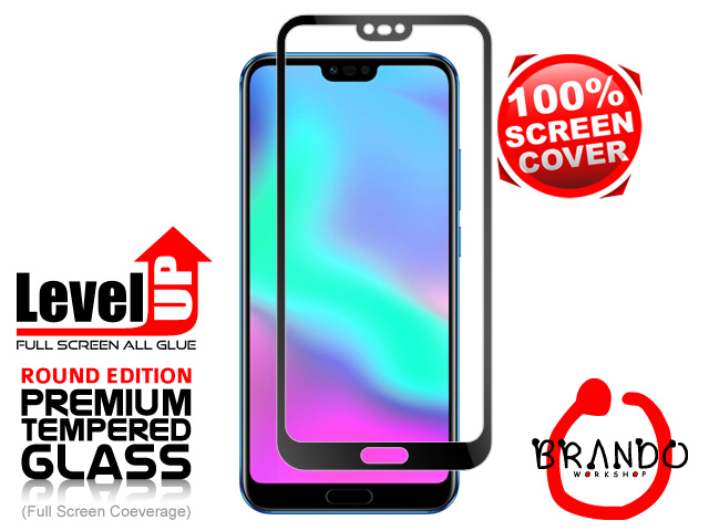 Brando Workshop Full Screen Coverage Glass Protector (Huawei Honor 10) - Black
