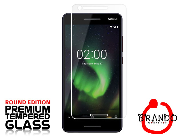 Brando Workshop Premium Tempered Glass Protector (Rounded Edition) (Nokia 2.1)