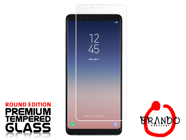 Brando Workshop Premium Tempered Glass Protector (Rounded Edition) (Samsung Galaxy A8 Star (A9 Star))