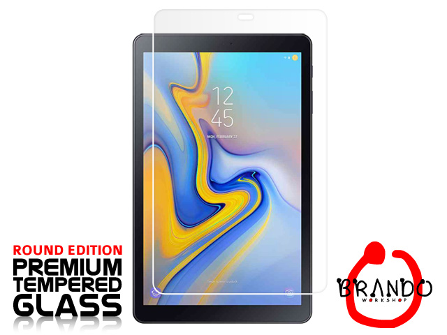 Brando Workshop Premium Tempered Glass Protector (Rounded Edition) (Samsung Galaxy Tab A 10.5 (2018))