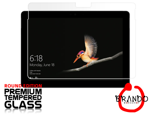 Brando Workshop Premium Tempered Glass Protector (Rounded Edition) (Microsoft Surface Go)