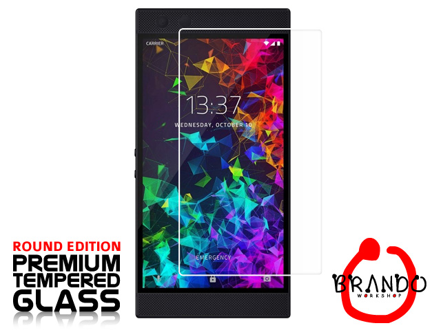 Brando Workshop Premium Tempered Glass Protector (Rounded Edition) (Razer Phone 2)