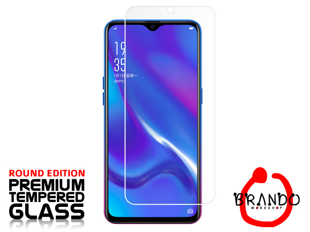 Brando Workshop Premium Tempered Glass Protector (Rounded Edition) (OPPO K1)