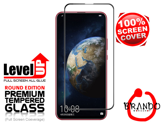 Brando Workshop Full Screen Coverage Glass Protector (Huawei Honor Magic 2) - Black