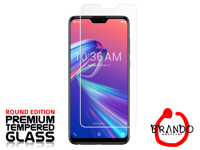 Brando Workshop Premium Tempered Glass Protector (Rounded Edition) (Asus Zenfone Max Pro (M2) ZB631KL)