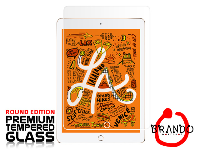 Brando Workshop Premium Tempered Glass Protector (Rounded Edition) (iPad mini (2019))