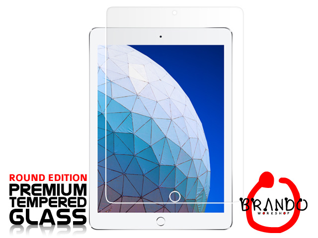 Brando Workshop Premium Tempered Glass Protector (Rounded Edition) (iPad Air (2019))