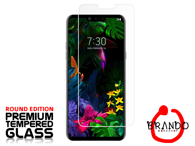 Brando Workshop Premium Tempered Glass Protector (Rounded Edition) (LG G8 ThinQ)