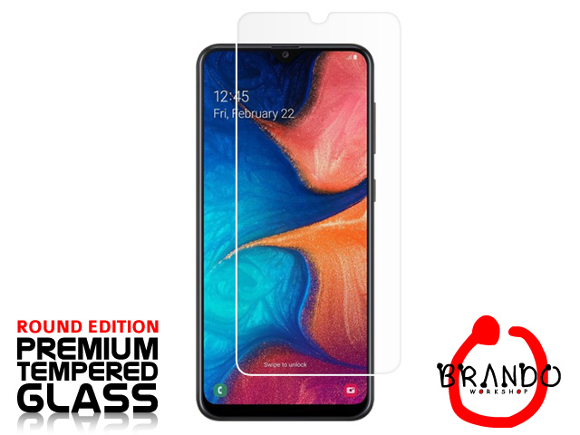 Brando Workshop Premium Tempered Glass Protector (Rounded Edition) (Samsung Galaxy A20)