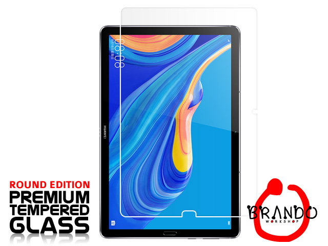 Brando Workshop Premium Tempered Glass Protector (Rounded Edition) (Huawei MediaPad M6 10.8)