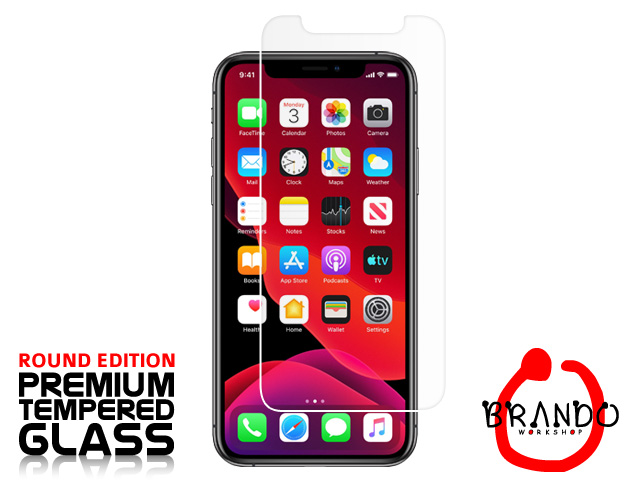 Brando Workshop Premium Tempered Glass Protector (Rounded Edition) (iPhone 11 Pro Max (6.5))