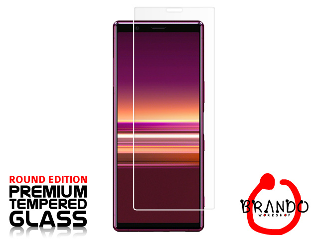Brando Workshop Premium Tempered Glass Protector (Rounded Edition) (Sony Xperia 5)