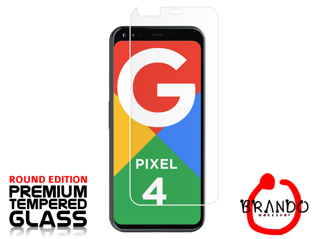 Brando Workshop Premium Tempered Glass Protector (Rounded Edition) (Google Pixel 4)