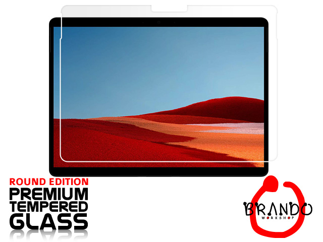 Brando Workshop Premium Tempered Glass Protector (Rounded Edition) (Microsoft Surface Pro X)